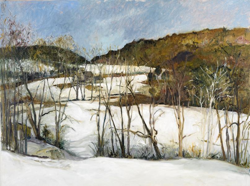 Skiperee  Rd.  48x51-oil on canvas