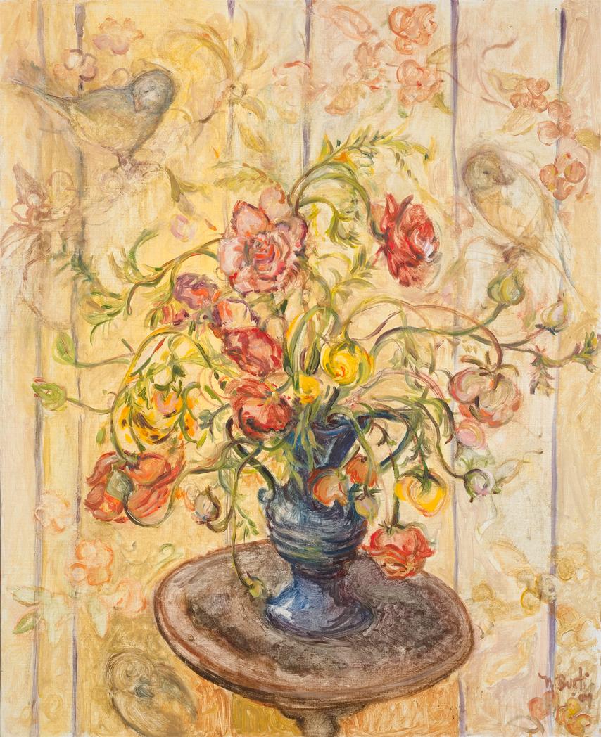 Ranunculus  26X28 - Oil on canvas