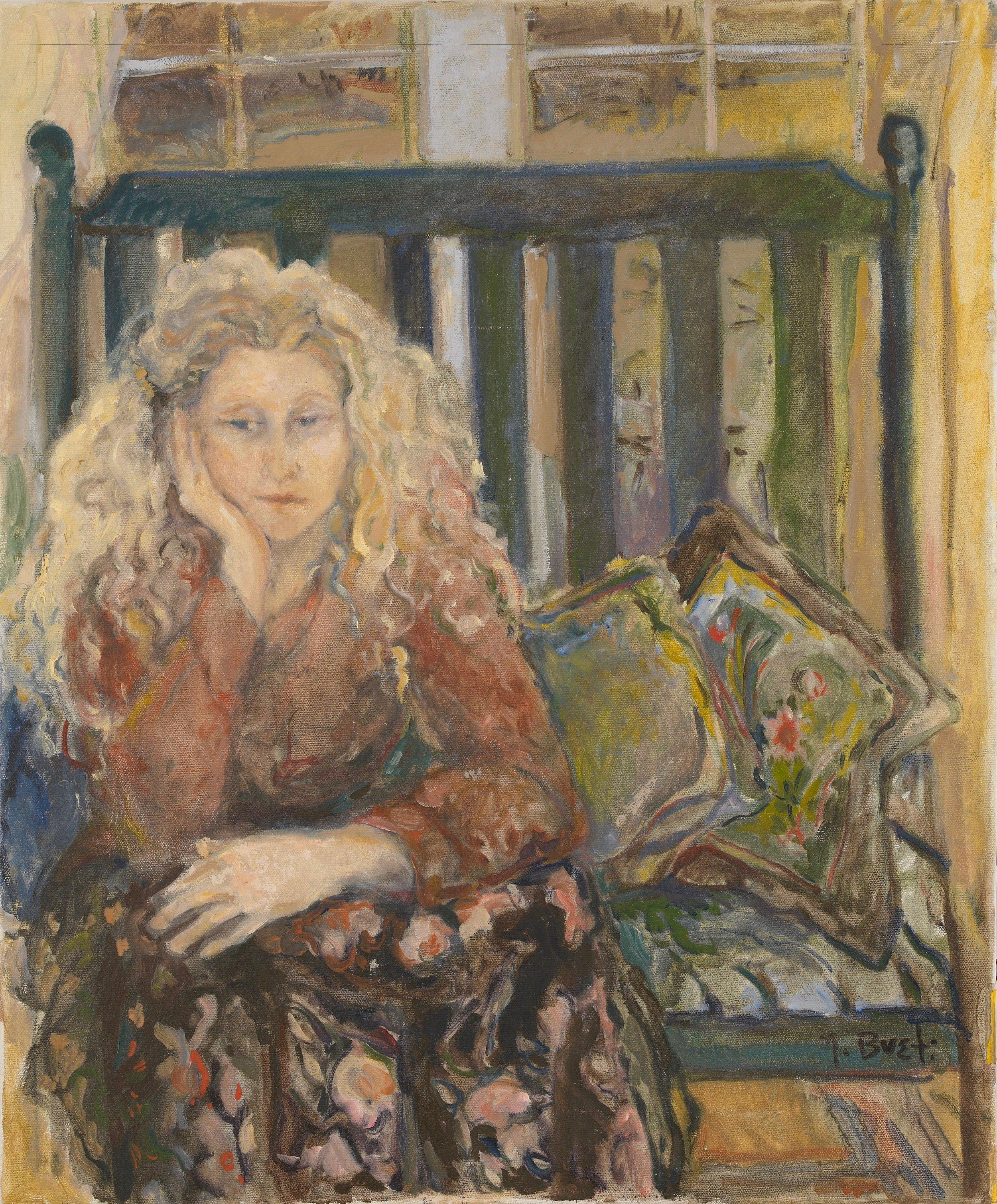 Susan  24X26 - Oil on Canvas
