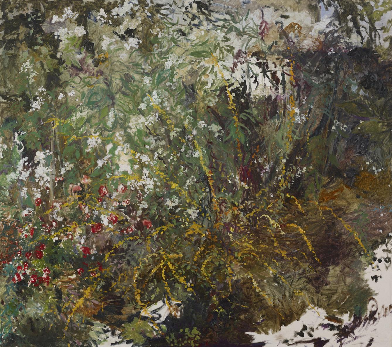 October Landscape 2  46x52 - Oil