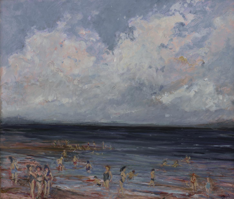 Sand Bar Summer  20X24 - Oil on Linen