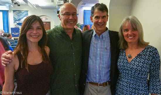 With the wonderful Dr. Eben Alexander and Karen Newell