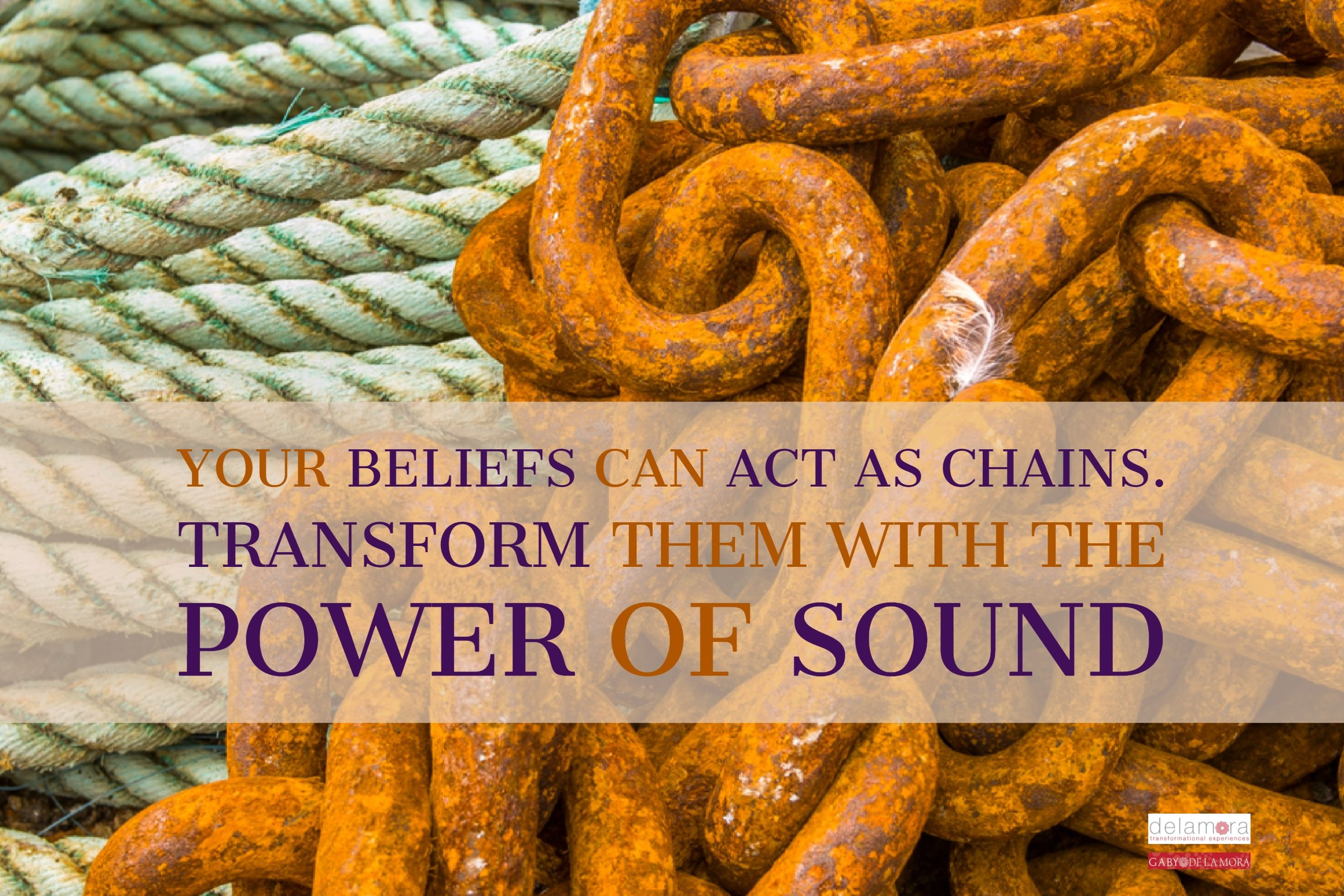 Your beliefs can act as chains