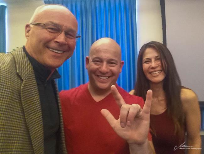 With Dr. Darren Weissman