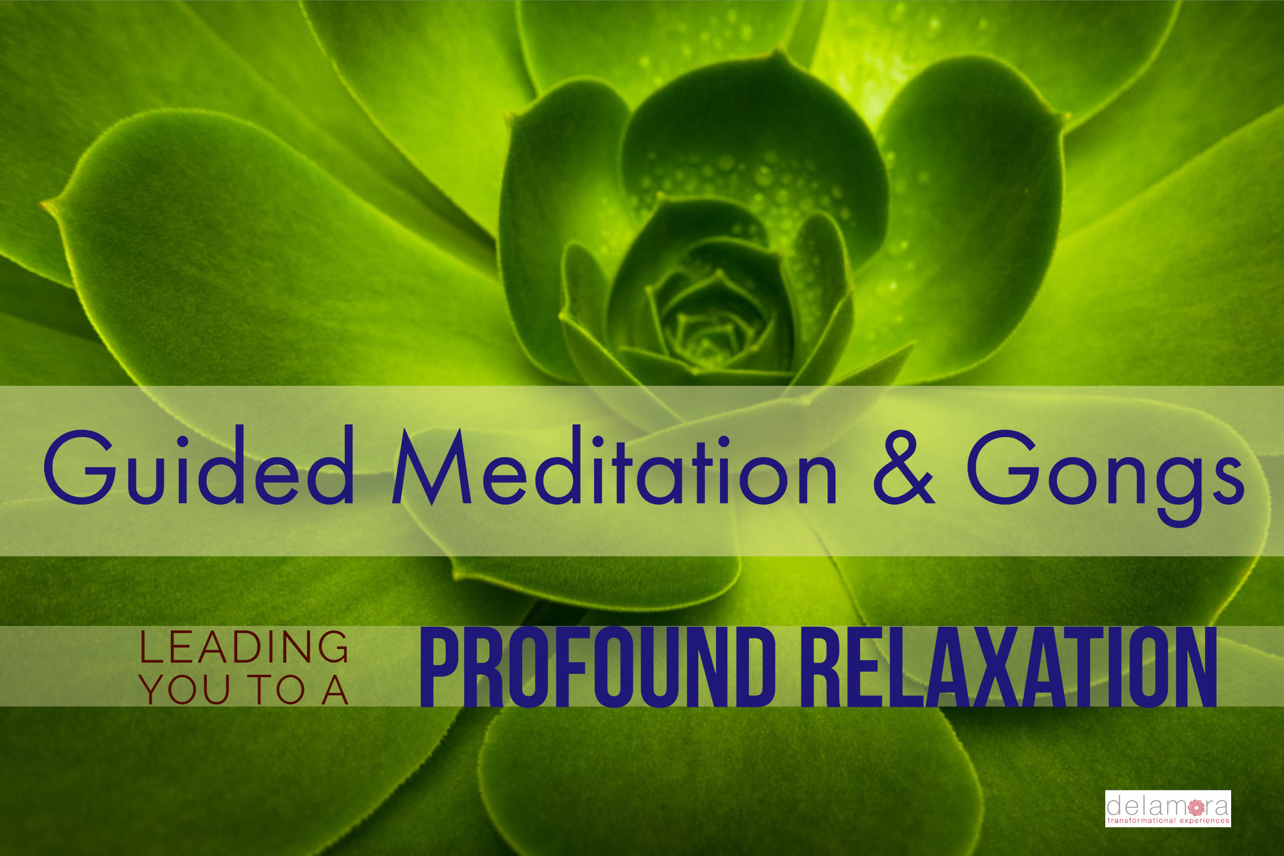 Deeply relax with a guided gong meditation at The Well in LaGrange