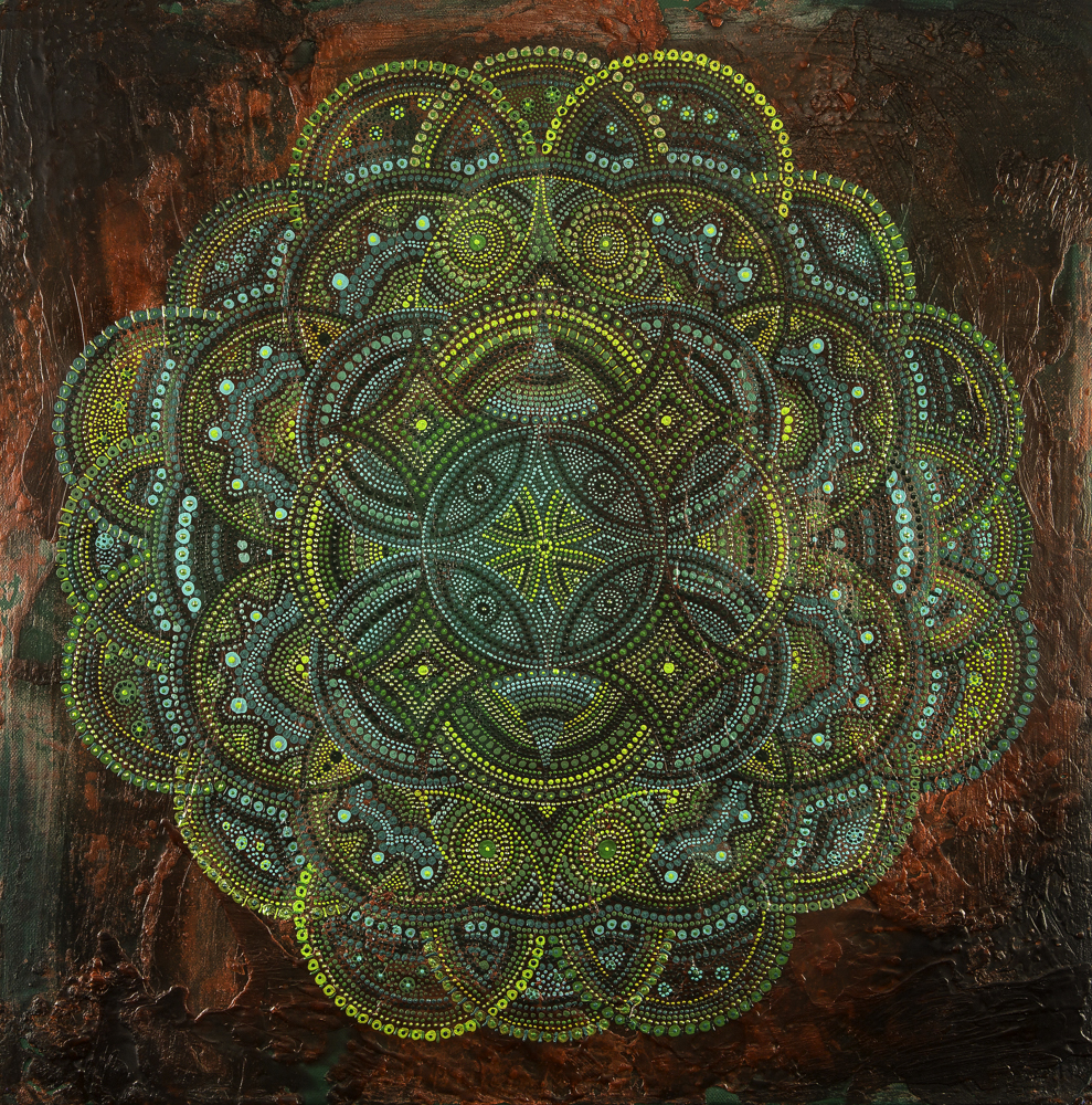 MANDALA MEDITATION ART -