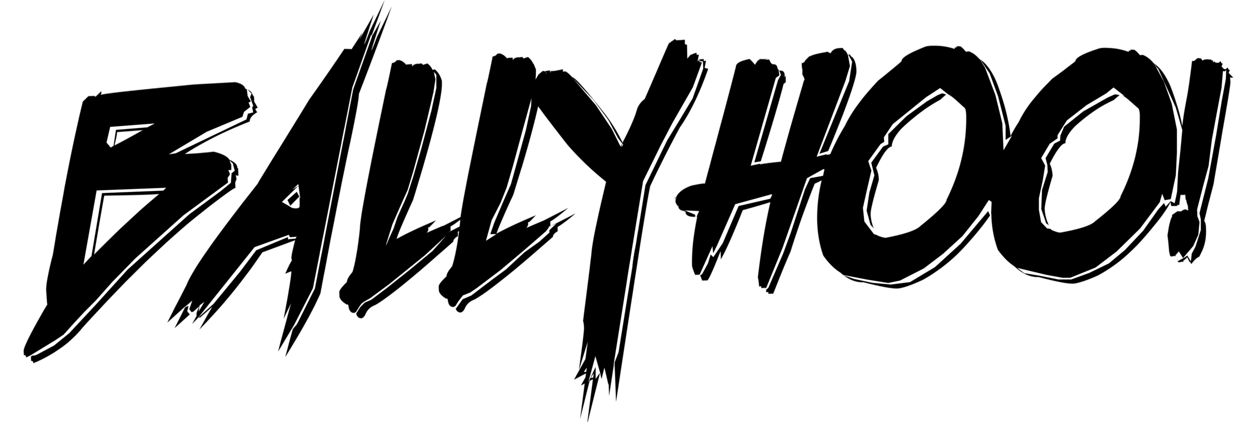 Ballyhoo! Logo - BLACK