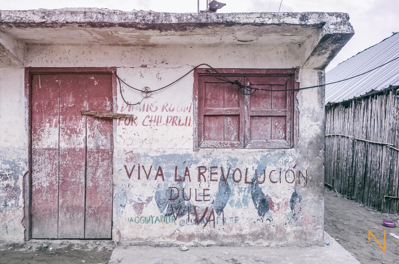 The 1925 Dule Revolution established the creation of autonomous  Guna  districts -  comarcas  - such as  Guna Yala .