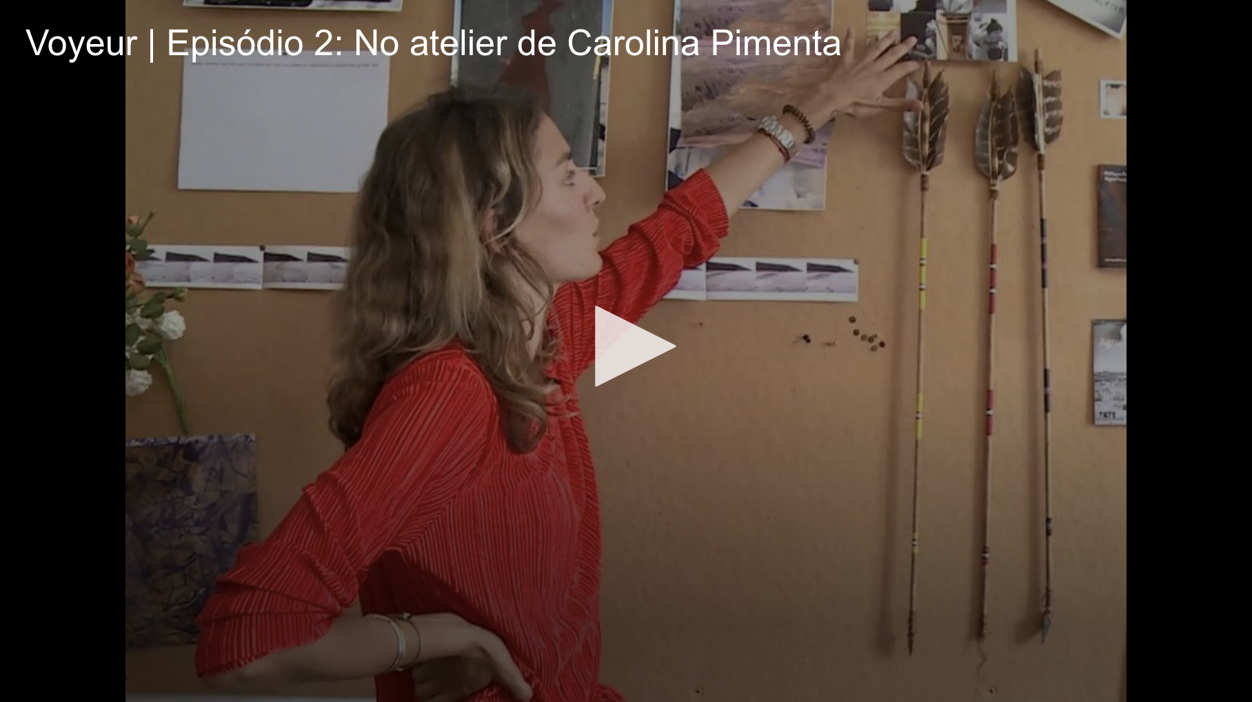 Voyeur | Episódio 2. No atelier de Carolina Pimenta,   Máxima , September 2017  At Carolina Pimenta's studio for the second episode of the Voyeur series. Carolina opens the doors of her studio in Chiado and lets us peek at her aesthetic universe, world influences and out of the box ideas.