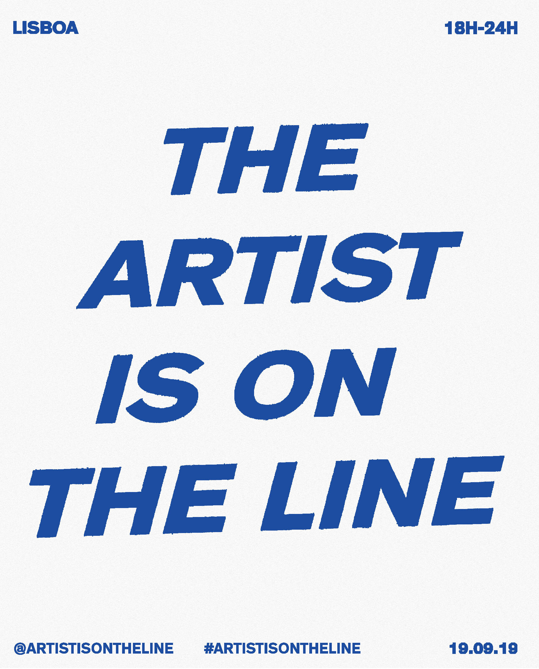 On the Line,  Performance, Public Phone booth, September 19th,  18h - 24h, 2019