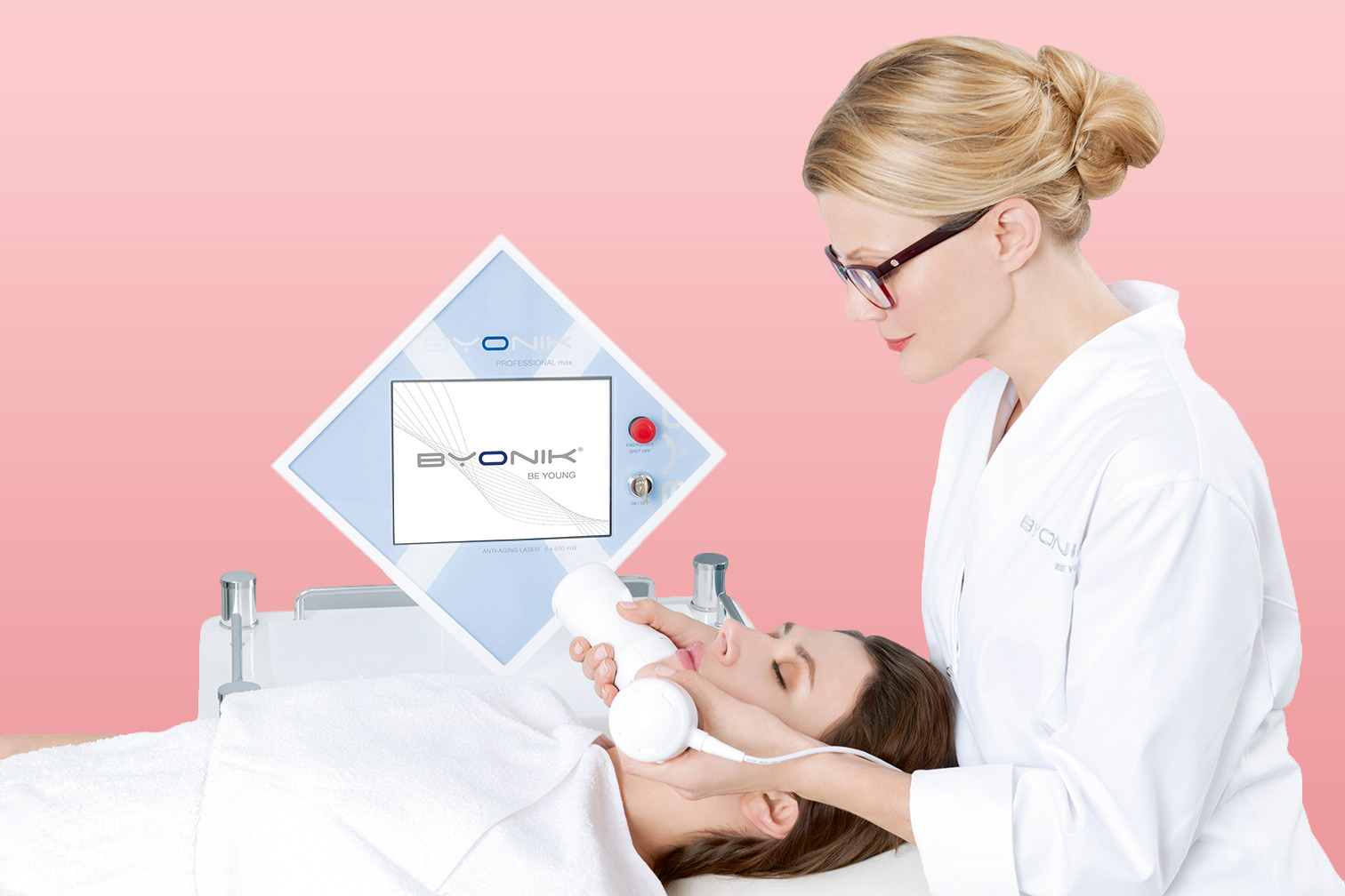 Hautverjüngung mitByonik® - kaltlaser behandlung