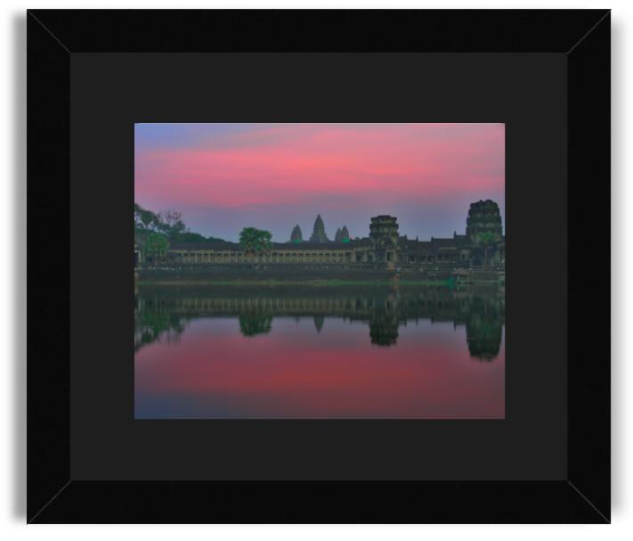 Jannine Krish Angkor Wat Black Frame Black Mat.png