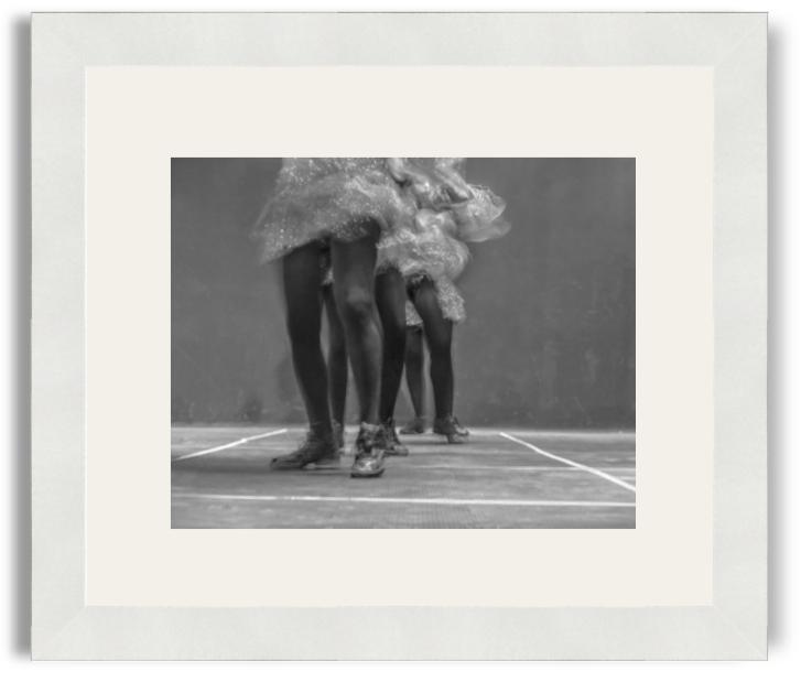 Sopho Sikharulidze Summer Diaries Dancers White Frame White Mat.png