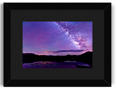 Matt Payne Milky Way Reflections 8x12 Black Frame Black Mat.jpg