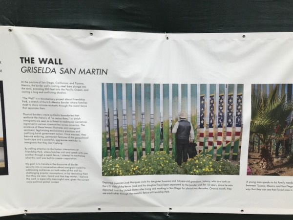 "Griselda San Martin's ""The Wall"" is a documentary project about Friendship Park, a stretch of the U.S. Mexico border where families meet to share intimate moments through the metal fence that separates them."