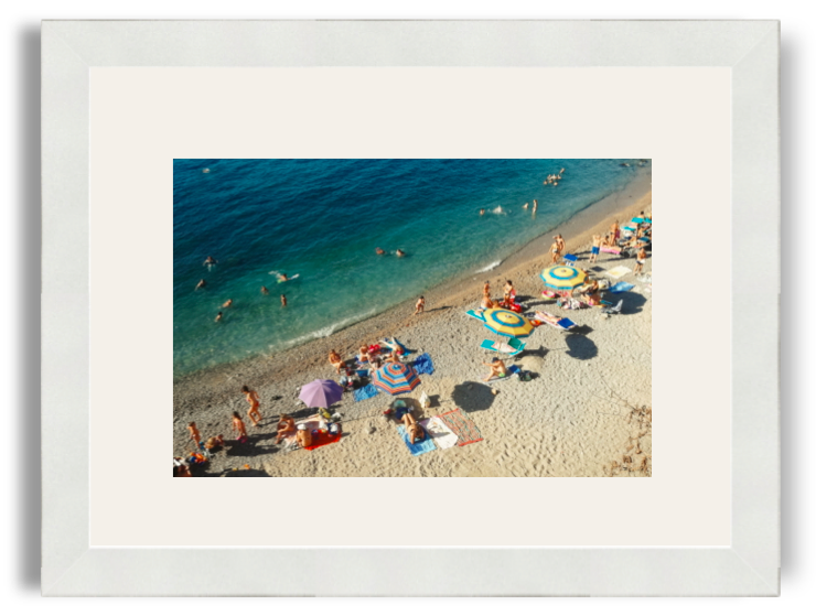Rhamely Amalfi Coast 2 White Frame White Mat.png