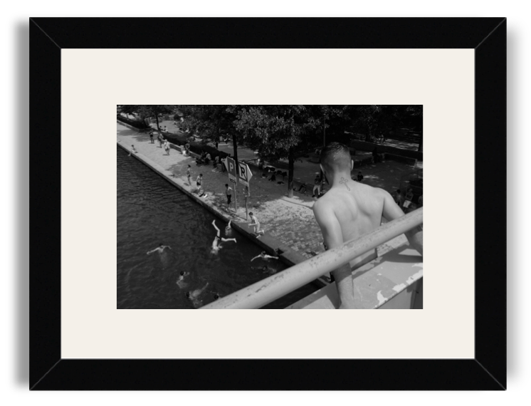 Yvan Des Costards Black Frame White Mat.png