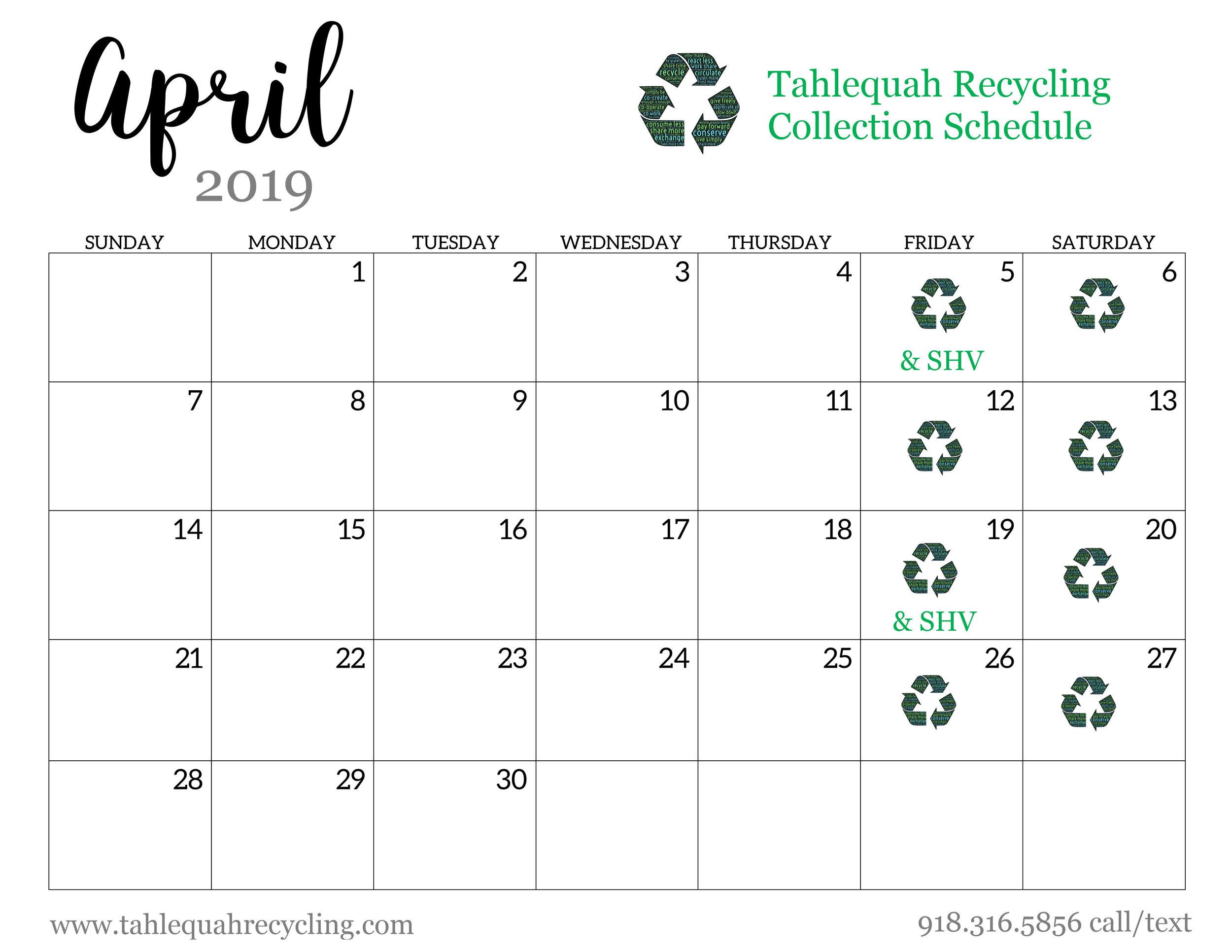 Tahlequah Recycling April 2019.jpg