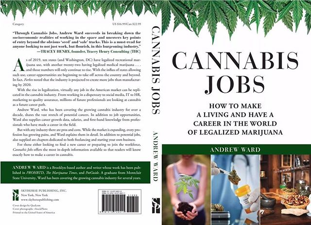 We are so glad to have contributed to the newly released book 'Cannabis Jobs' written by @thecannawriter The book is an in-depth guide for those entering the job market or looking to change careers in the growing marijuana industry. Andrew Ward, a Brooklyn-based author and writer whose work has been published in @prohbtd, @marijuanatimesx, and @potguide_, was a pleasure to collaborate with 🙏 #bookrelease #contributor #cannabisjobs #cannabiscommunity #thoughtleader 🏹