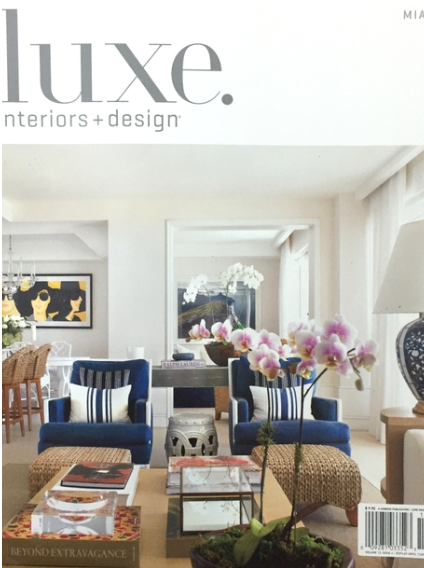 Luxe Interiors + Design 2015