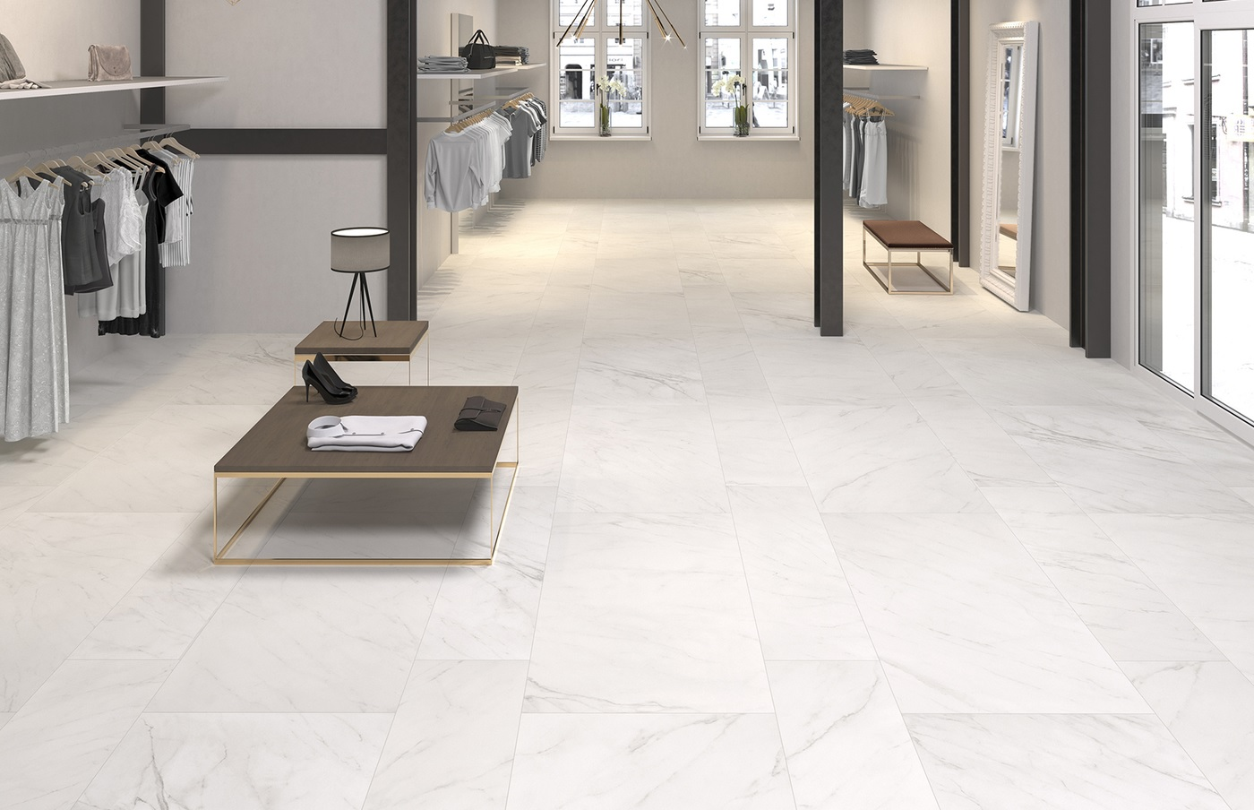 Porcelain Evoque Collection -