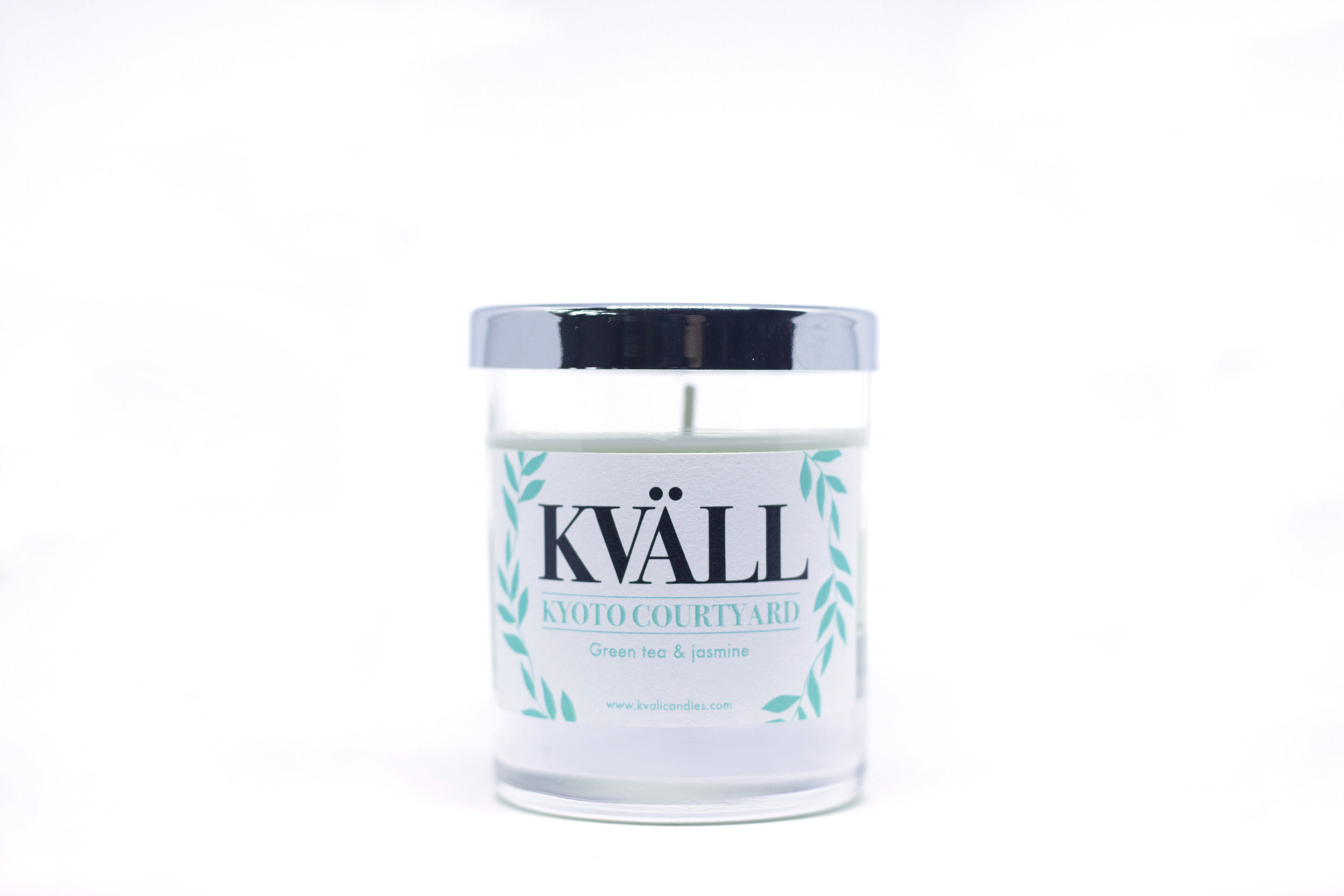kvall candle kyoto courtyard