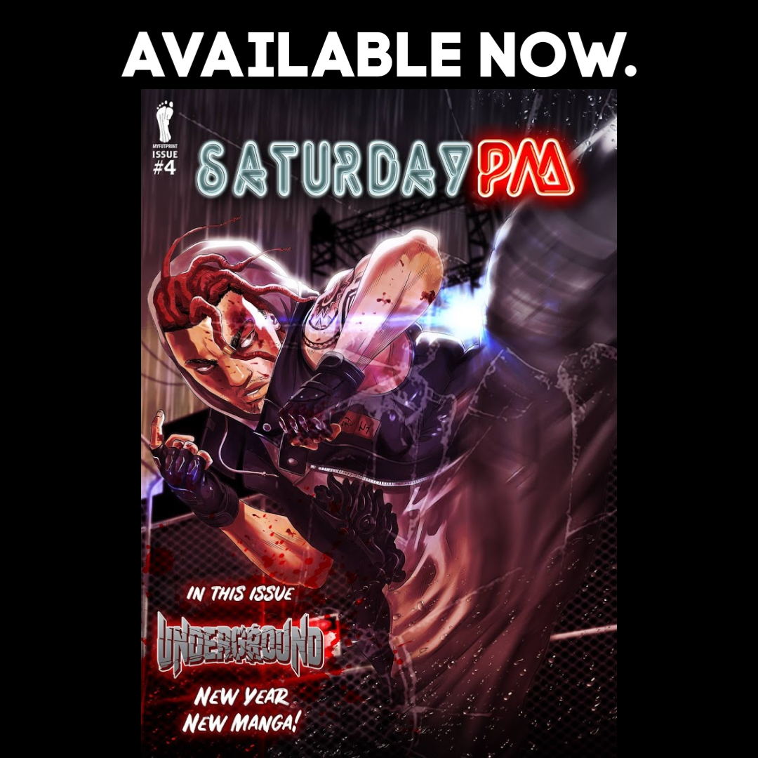 Latest issue of Saturday PM - #4 cover by JR De Bard!
