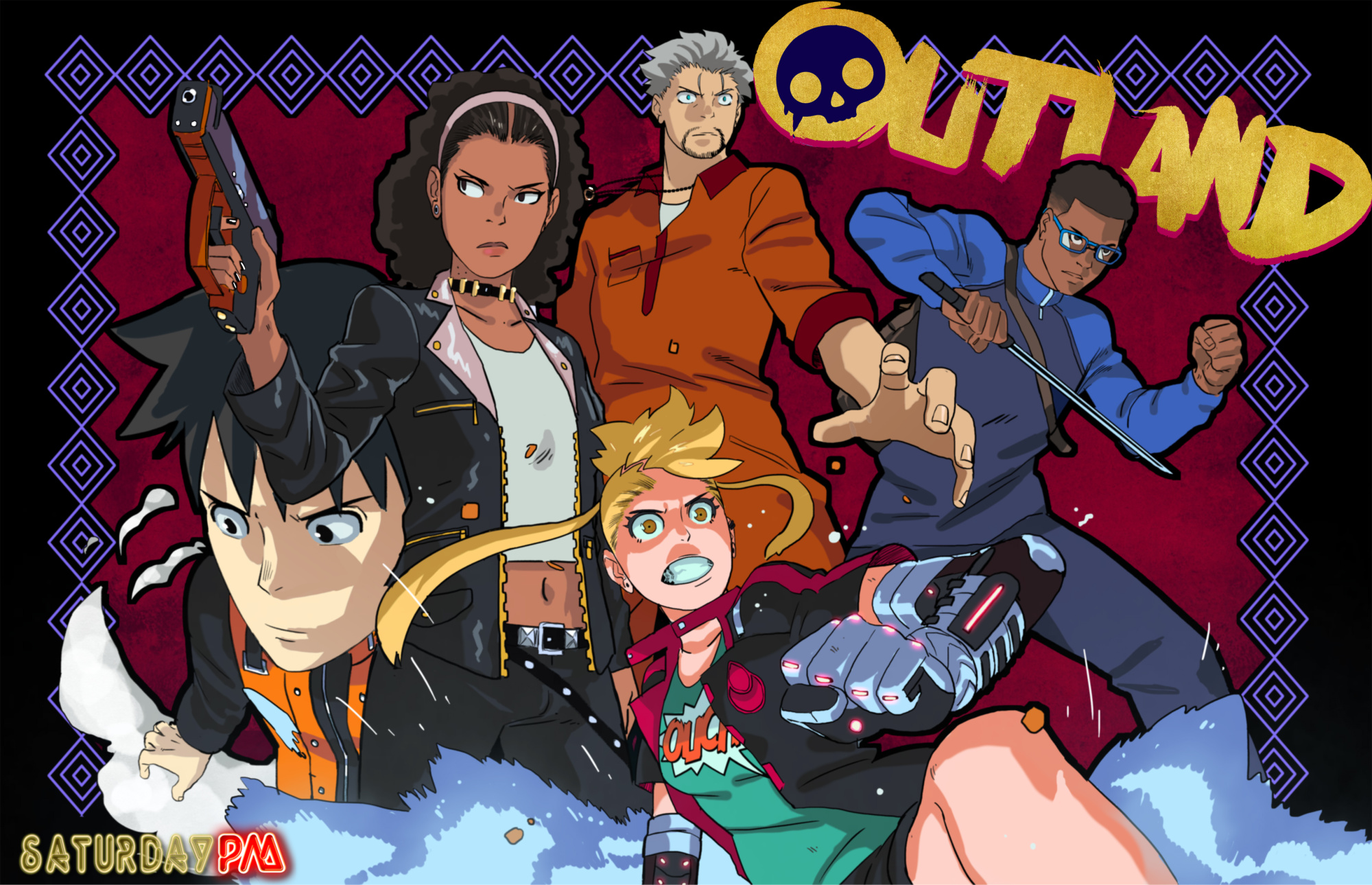 OUTLAND is the 1st series by newcomer, Rashad Milhouse