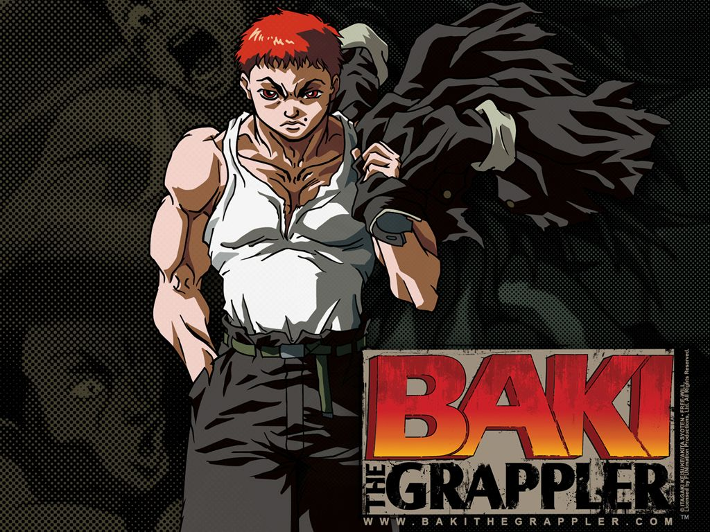 BAKI the GRAPPLER is a cult classic manga that has spawned a popular 90's anime, an early 2000's one & newer NETFLIX one.
