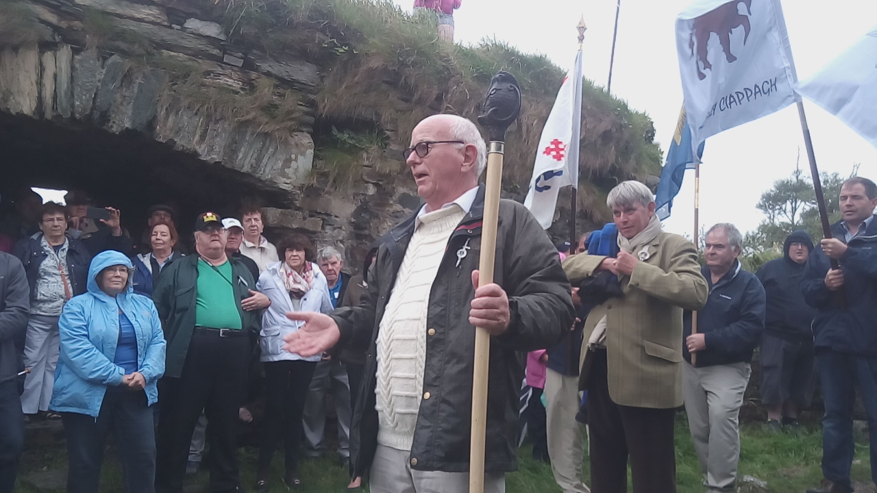 Taoiseach, Dr. Padraig Crowley