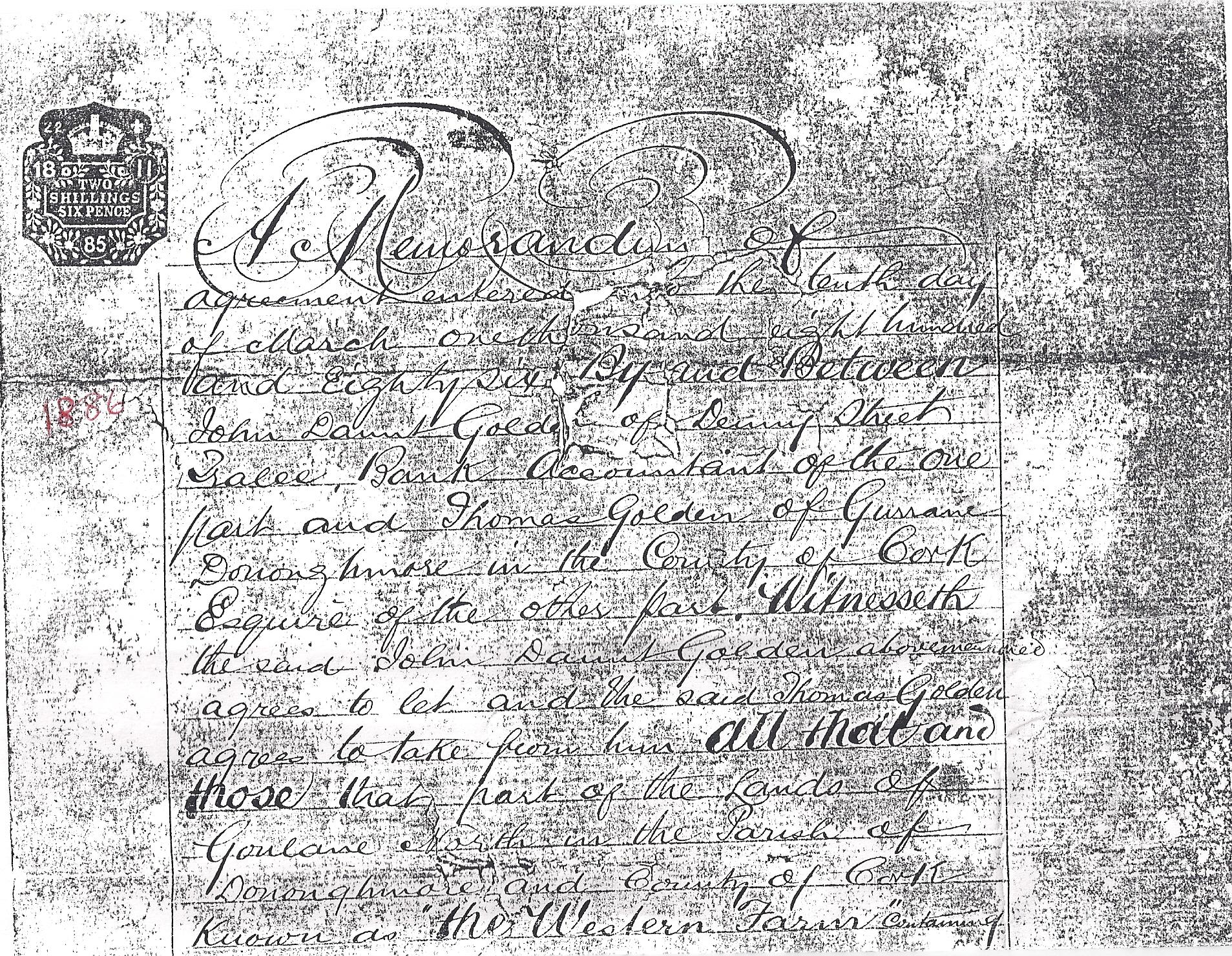 Western Farm agreement between John Daunt Golden and Thomas Golden 1.jpg