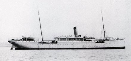SS  Dresden of the Norddeutscher Lloyd  (later renamed  Helius ) in Peter Newall's  Union Castle Line: a Fleet History (London, 1999), p. 102  (Ambrose Greenway collection, with kind permission of Carmania Press to Peter Mulvany)