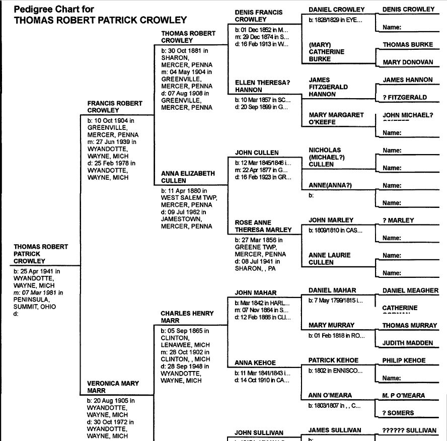 Thomas R Crowley Family Tree 1.JPG