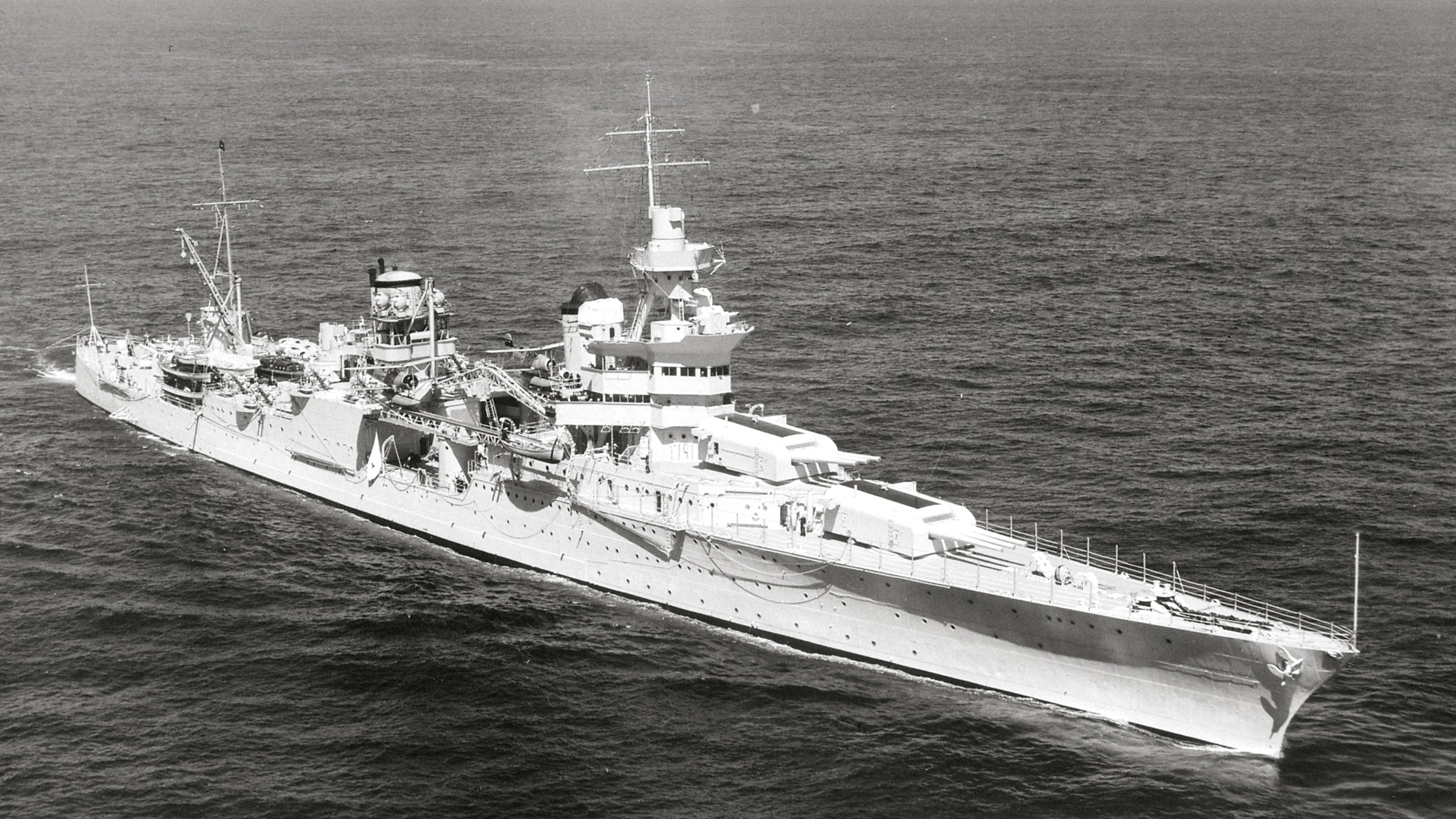 USS Indianpolis via: Wikipedia