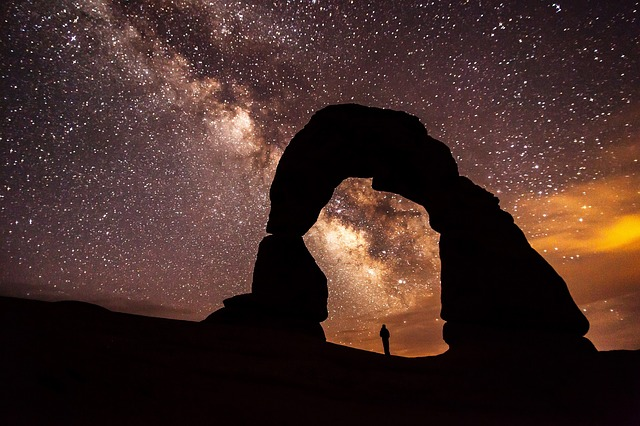The Delicate Arch in Moab is one of my favorite places in the world. I thought this photo of the arch against the night sky was fitting for a post about purpose.