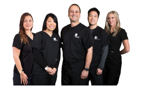 Dr. Rubinfeld (center) and his Re:Vision team.