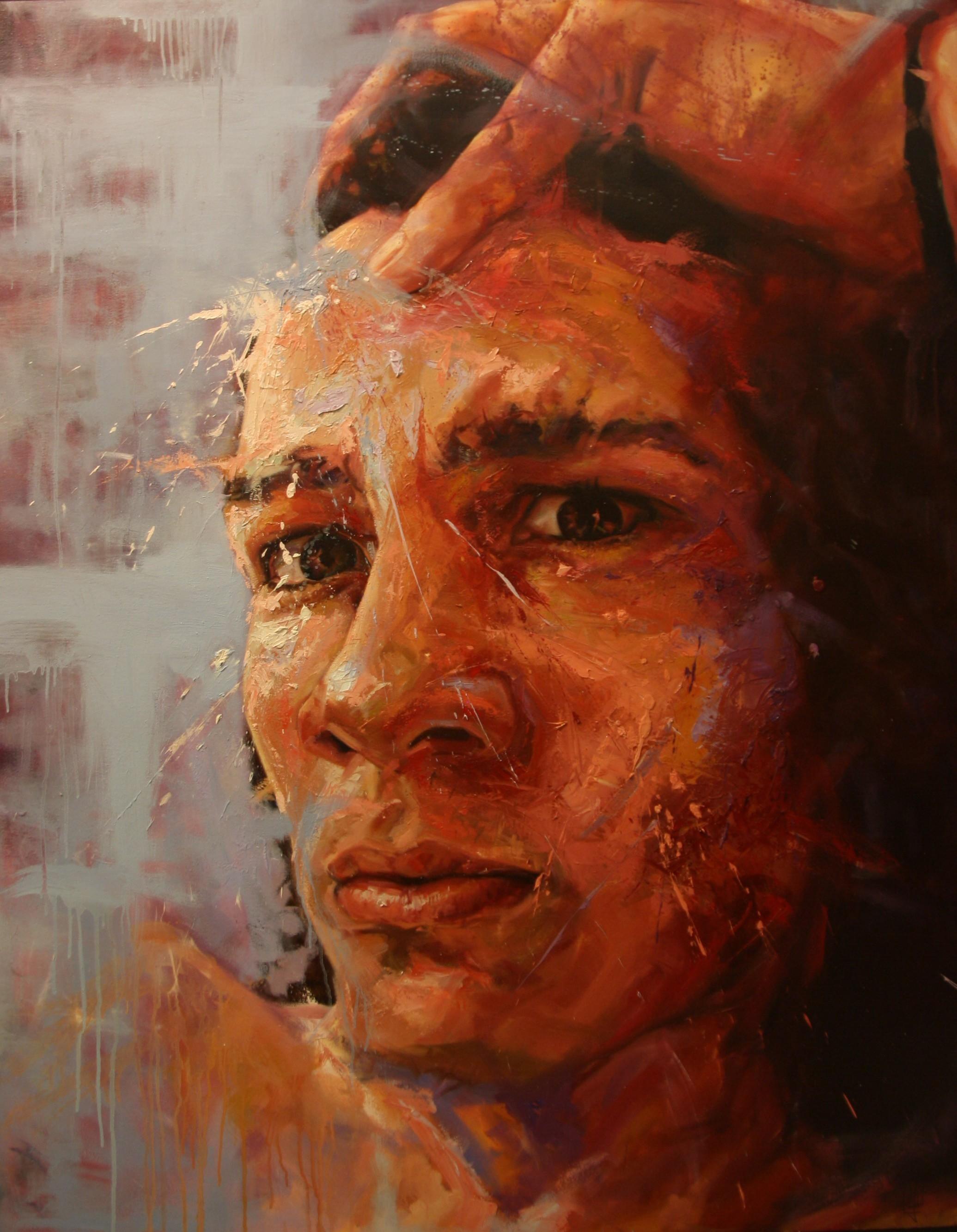 Intimate Enemies - Oil on canvas62