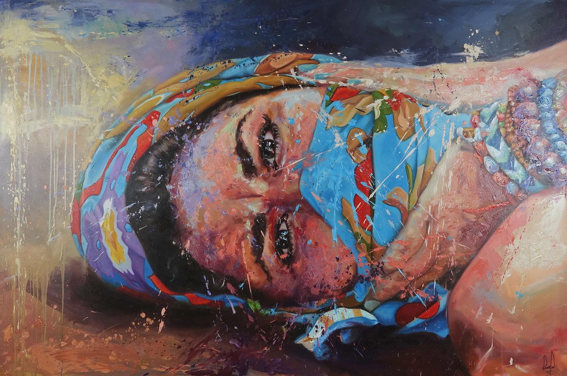 Freedom Awaits - Oil on canvas40