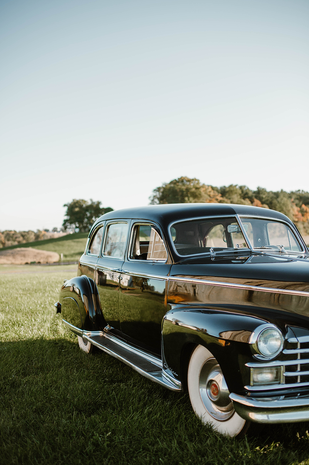 Vintage Limousine Wedding Get-Away