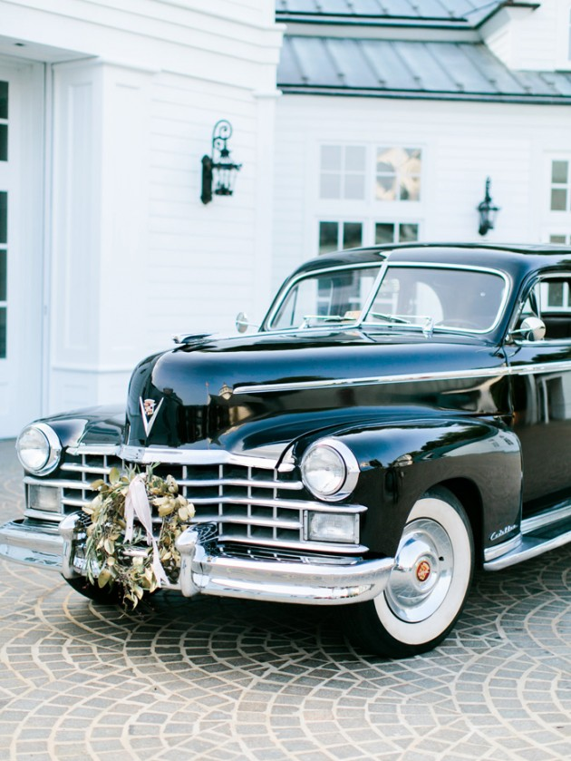 Vintage Limousine Wedding, 1948 FLeetwood Cadillac Trump Winery Wedding.jpg