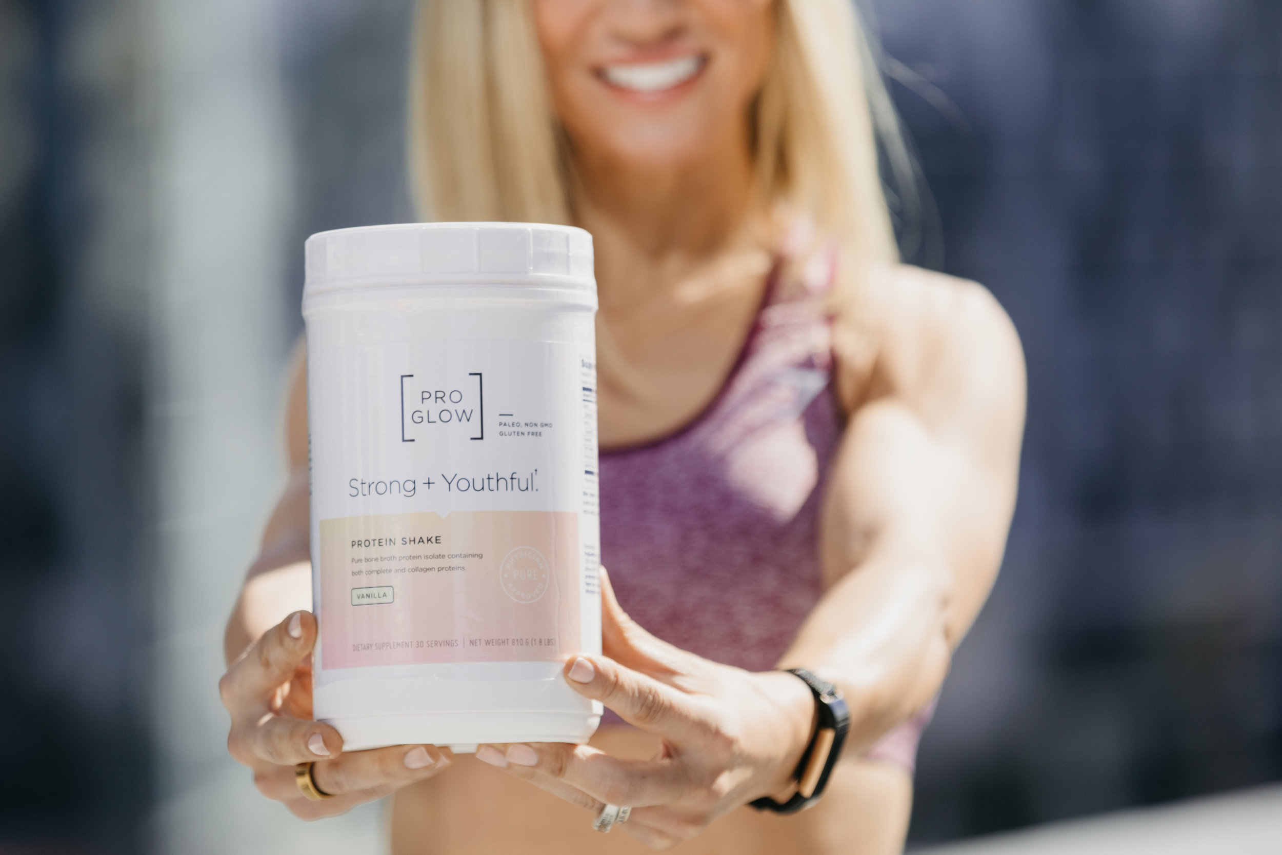 ProGlow Strong and Youthful Protein Powder