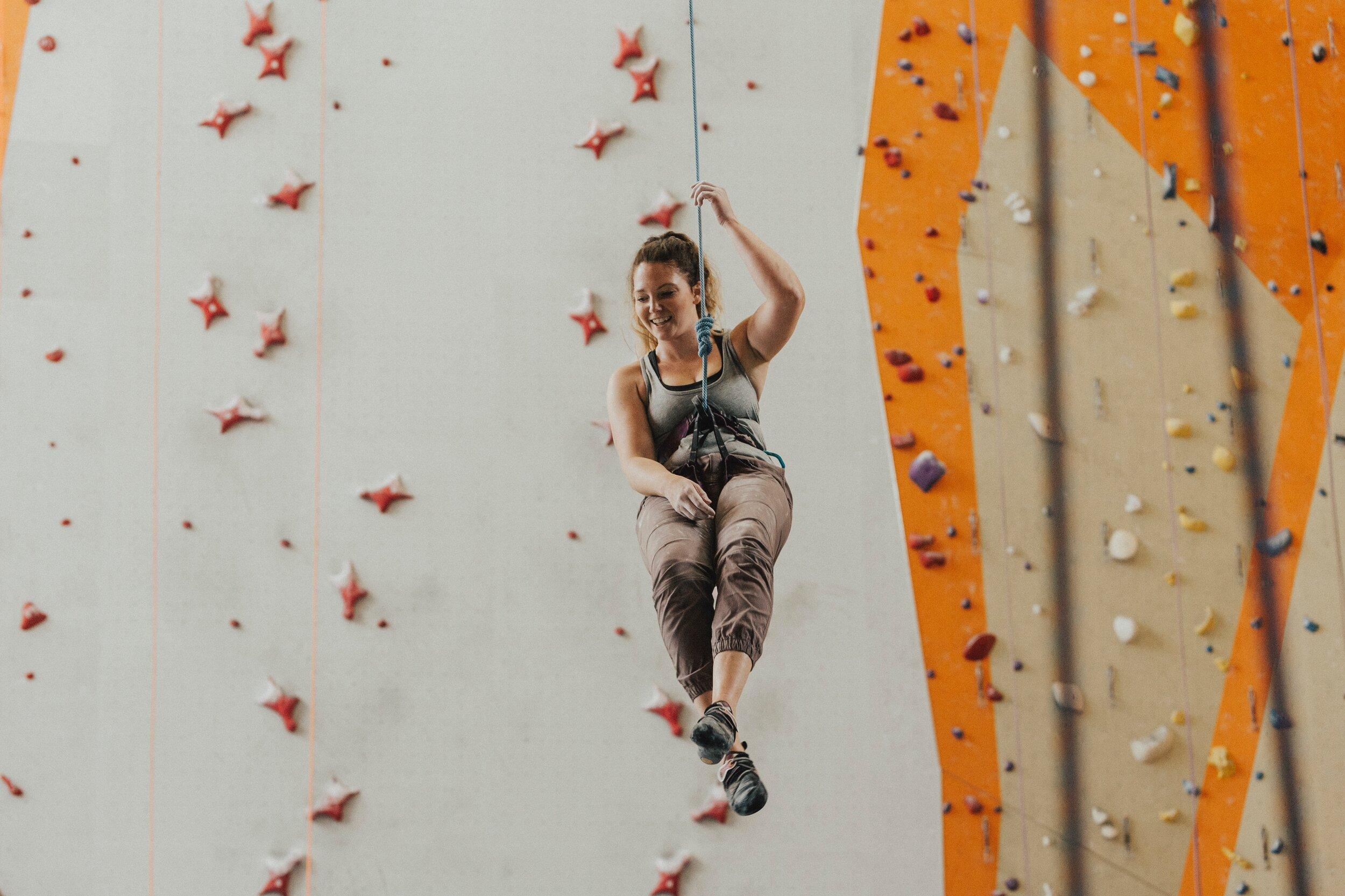 best fall workouts rock climbing