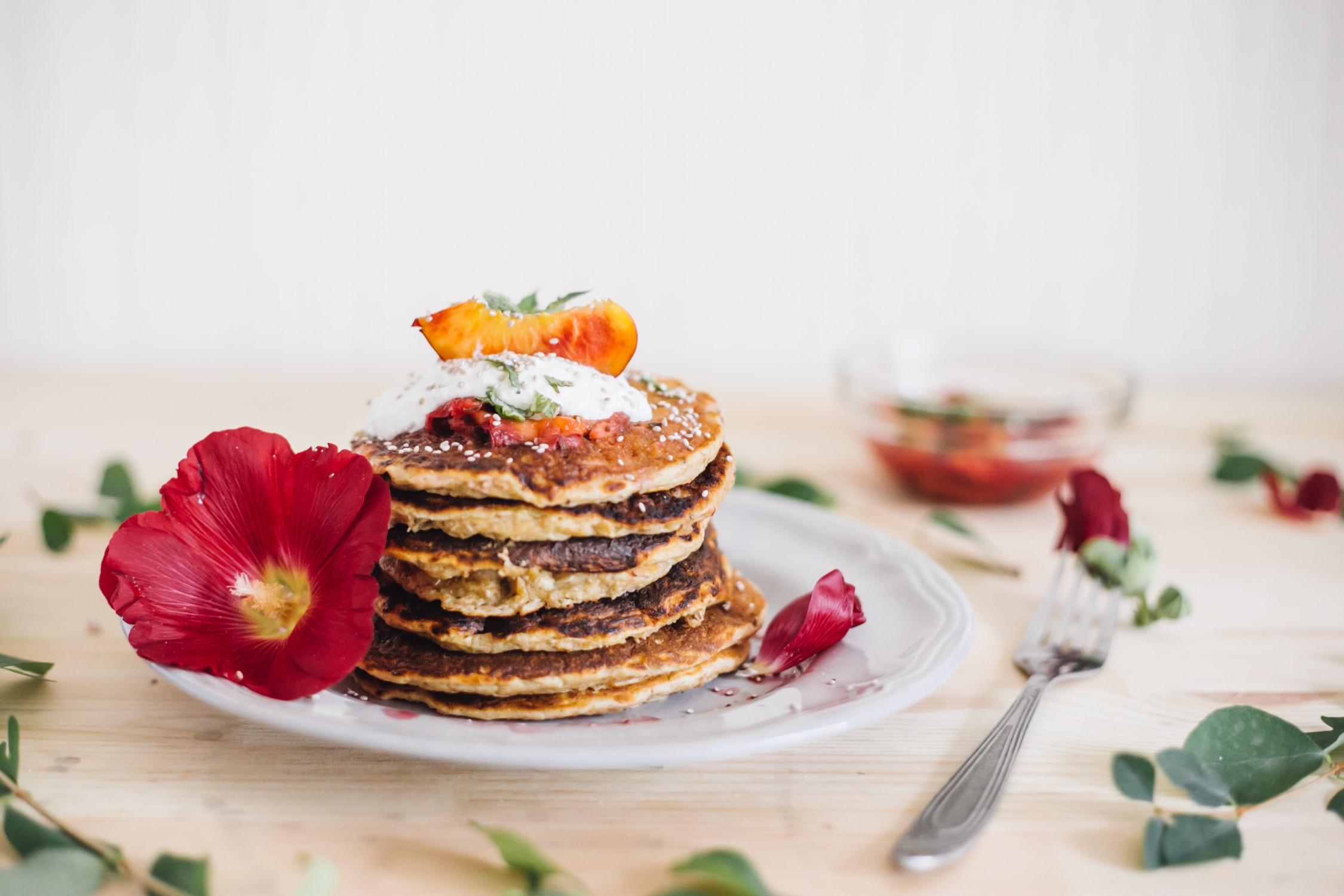 Protein Fall Recipes Pumpkin Pancakes