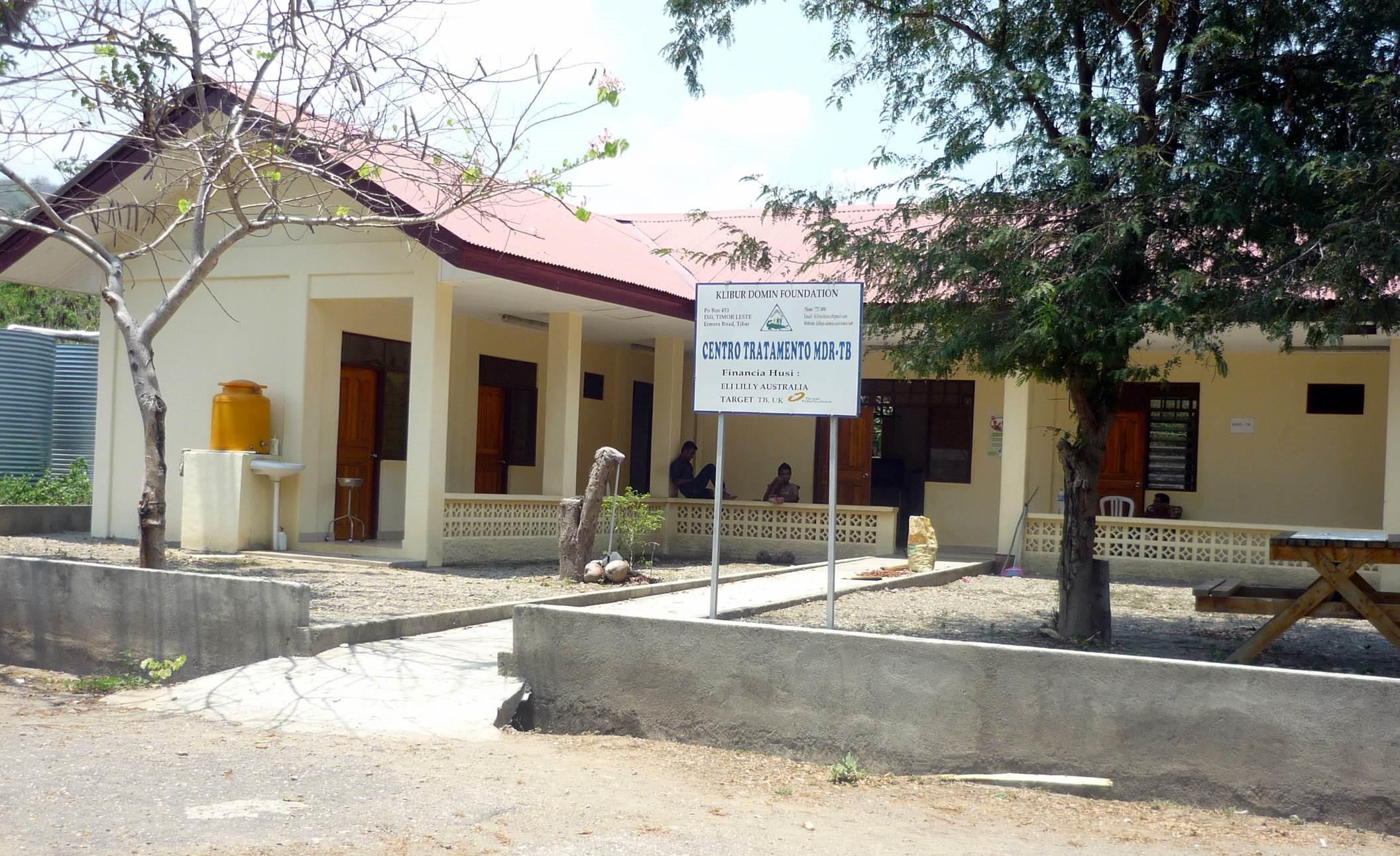 Current TB Ward at Klibur Domin