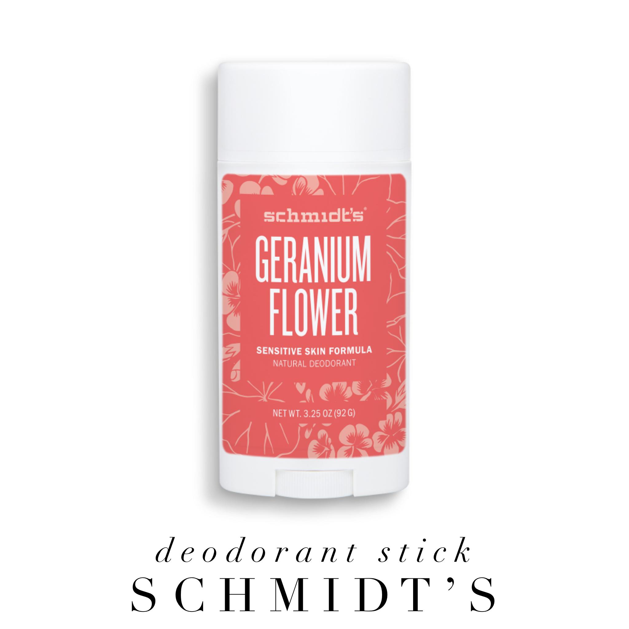 Deodorant stick by Schmidt's