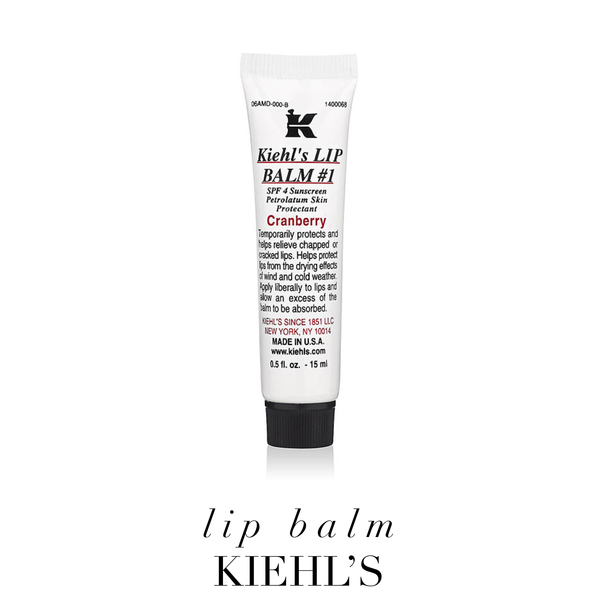 Lip balm by Kiehl's