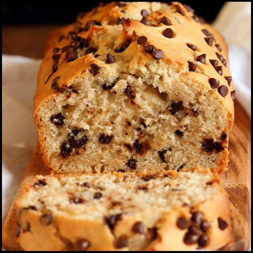 Chocolate chip cake by Vegan Richa