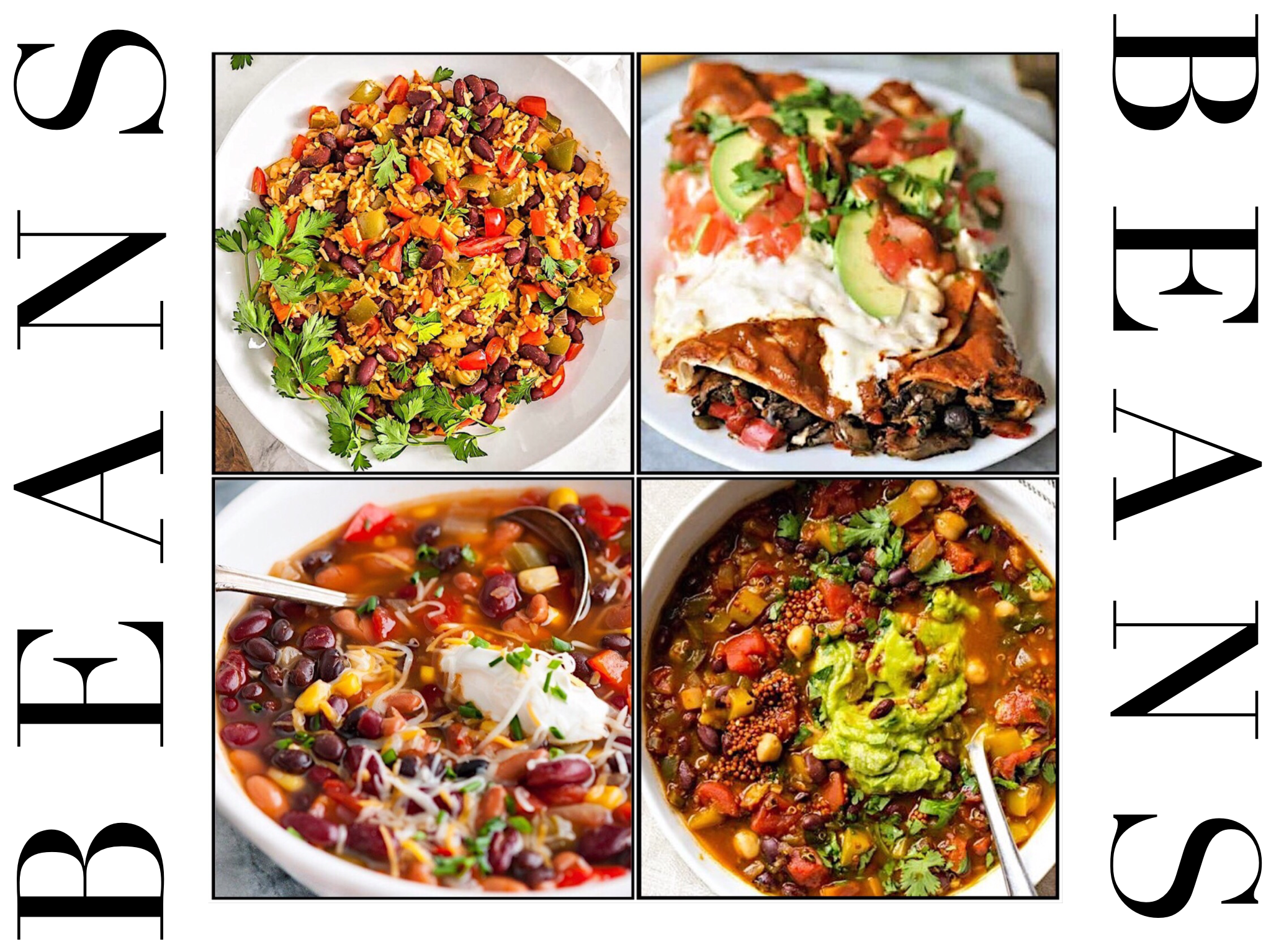 Beans - Beans are incredibly cheap, nutritious and versatile. Stew, soup, dip, sauce, burgers or brownies, whatever you're in the mood for, beans are there!