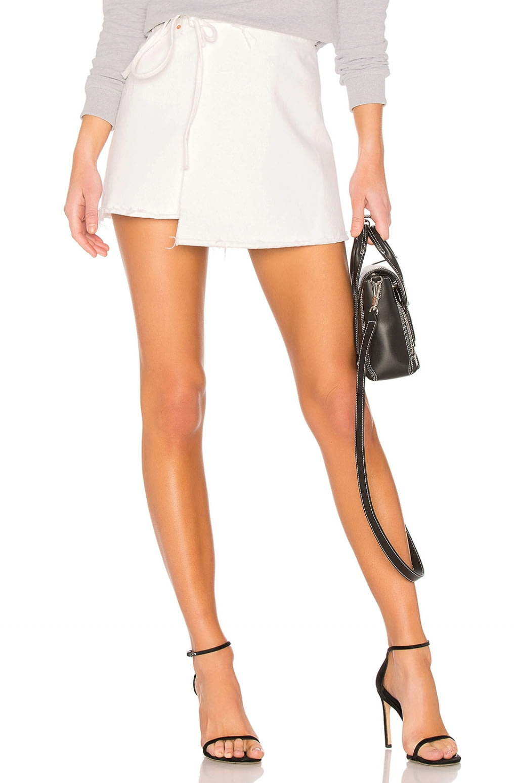 $103 - Reconstructed Wrap Skirt