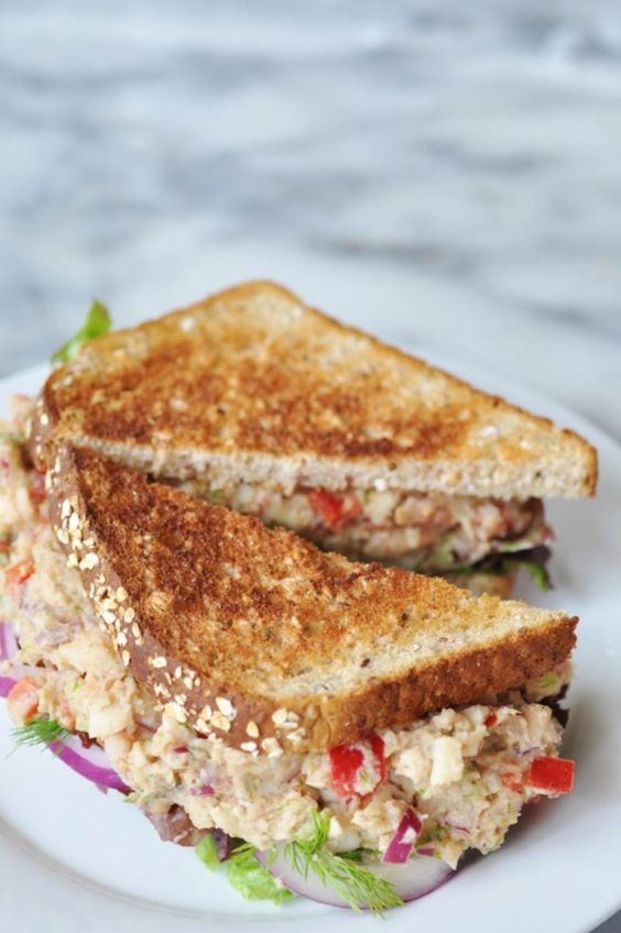 "Vegan ""Tuna"" Salad by Veganosity"